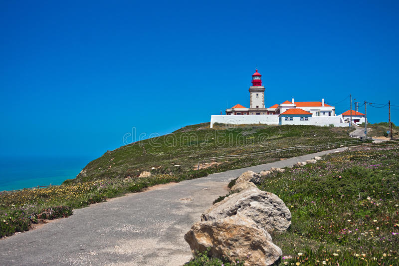 Download Lighthouse In Portugal Ocean Cape Stock Image - Image: 21980631