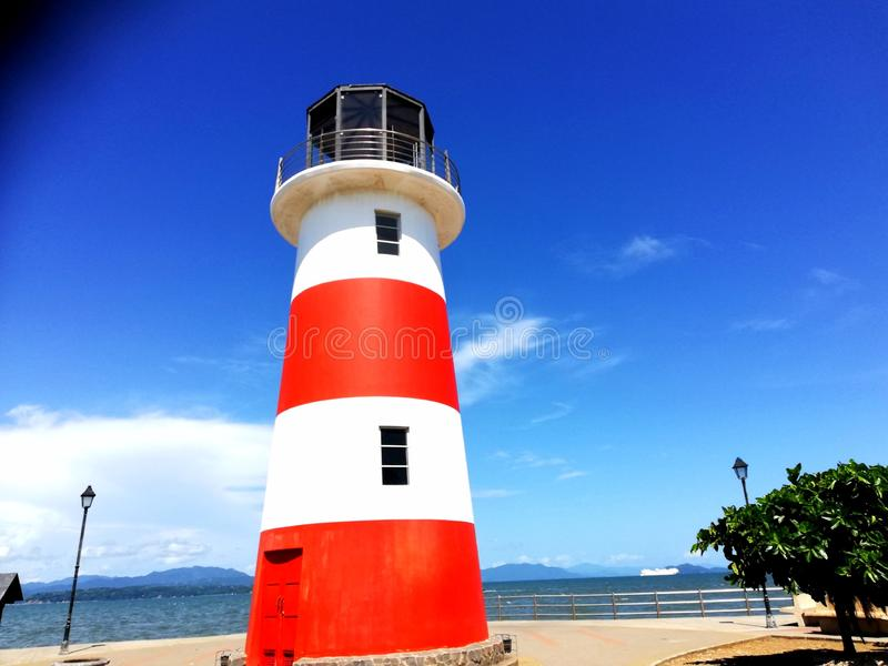 Lighthouse. Puntarenas.Costa Rica. Tourism royalty free stock photos