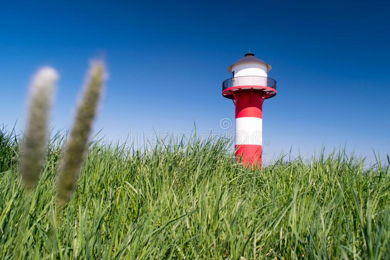 Lighthouse - Reach a target. royalty free stock photos