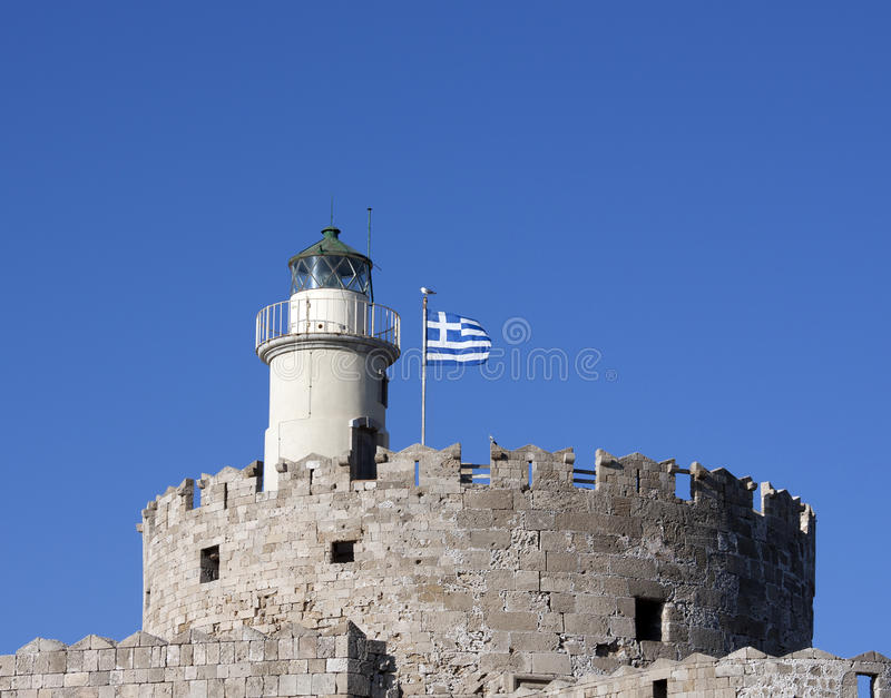 Download Lighthouse rhodes stock photo. Image of europe, nicholas - 22405064
