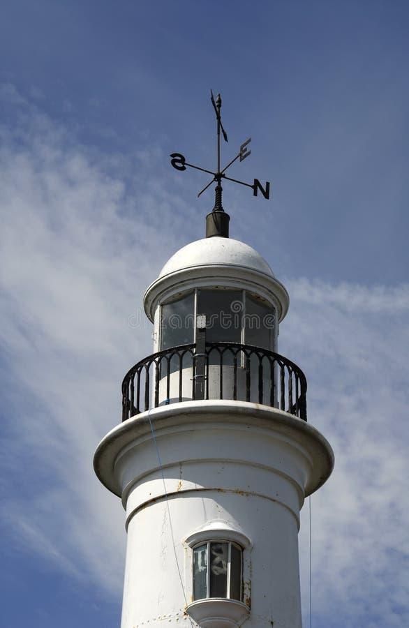 lighthouse seaburn weather fotografering för bildbyråer