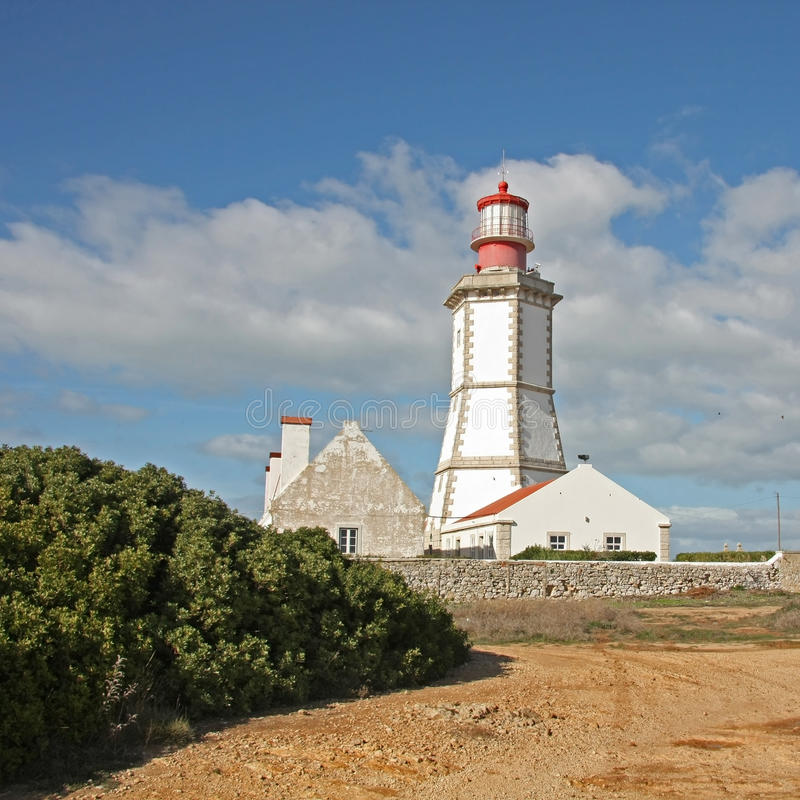 Download Lighthouse In Sesimbra, Portugal. Stock Image - Image: 28748865