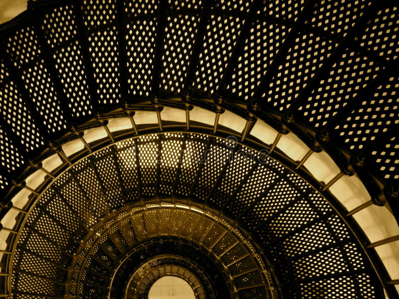 Lighthouse Stairs royalty free stock images