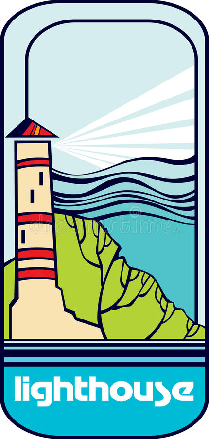 Download Lighthouse stock vector. Illustration of lighthouse, isolated - 32311828
