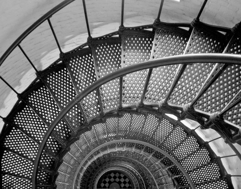Lighthouse Stiars royalty free stock photos