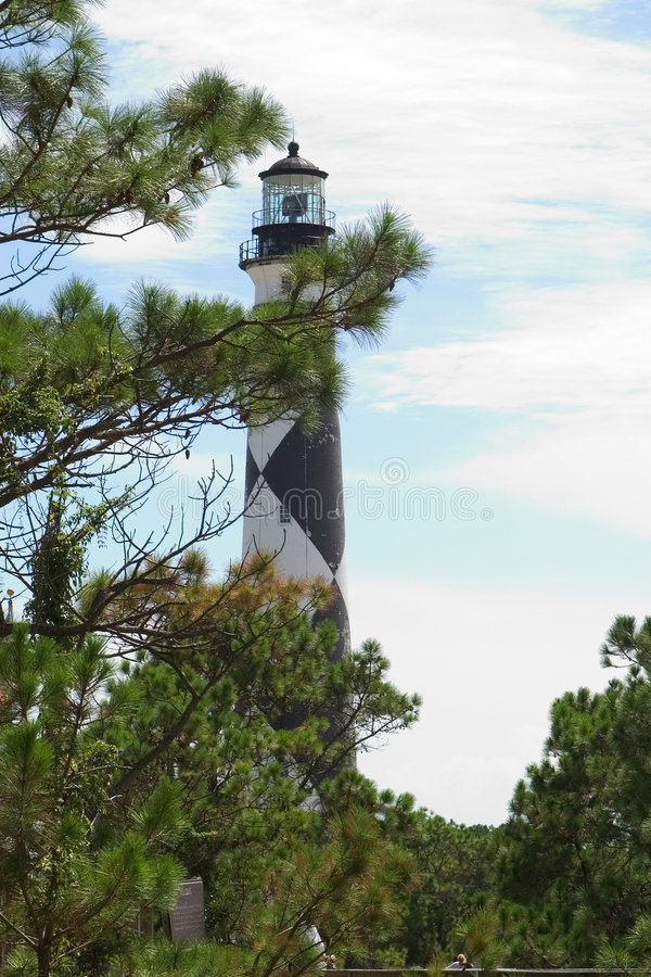 Download Lighthouse Through The Trees Stock Image - Image: 16711