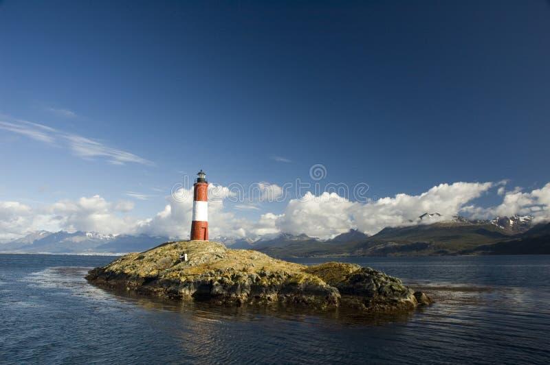 Download Lighthouse ushuaia stock image. Image of protect, argentina - 12128737
