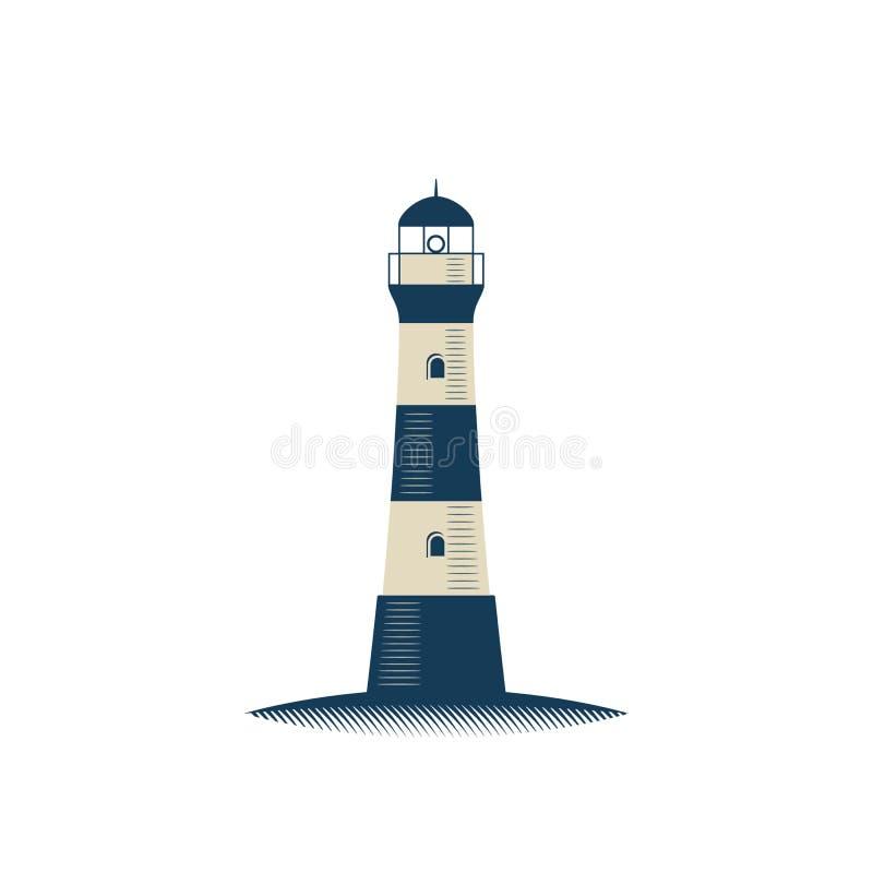Lighthouse. Lighthouse vector illustration on white background vector illustration