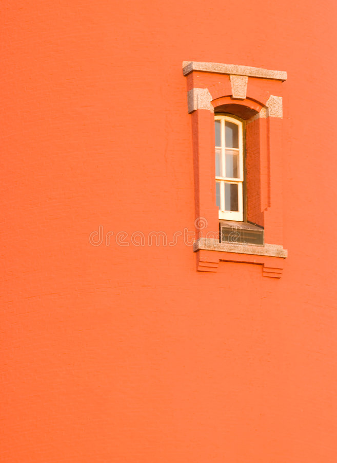 Lighthouse Window stock photo