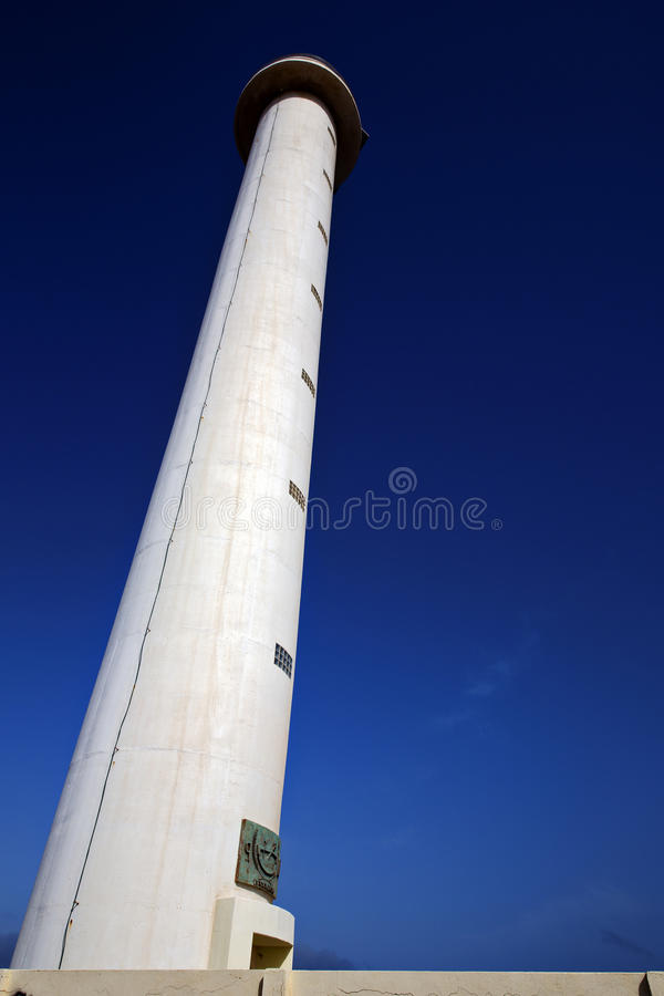 Download Lighthouse And Window In The Blue Sky   Arrecife Teguise Stock Photo - Image of dirty, light: 33317228