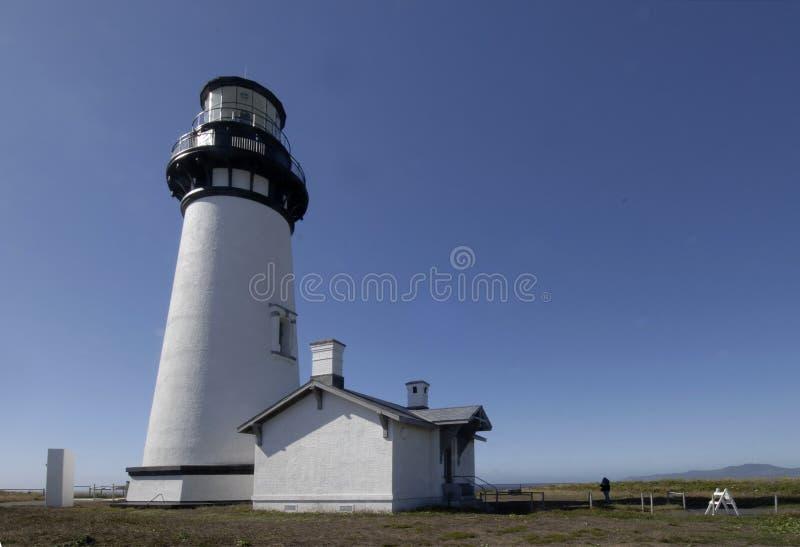 Lighthouse at Yaquina Head, Oregon stock image