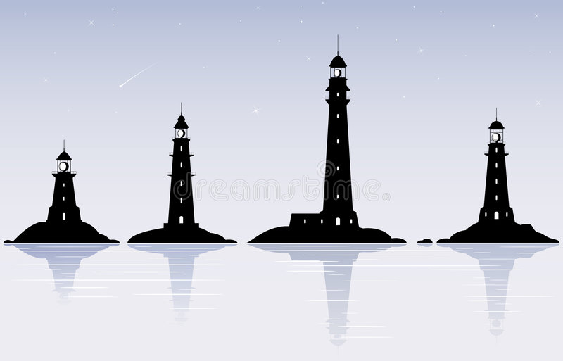 Download Lighthouses Stock Image - Image: 8621671
