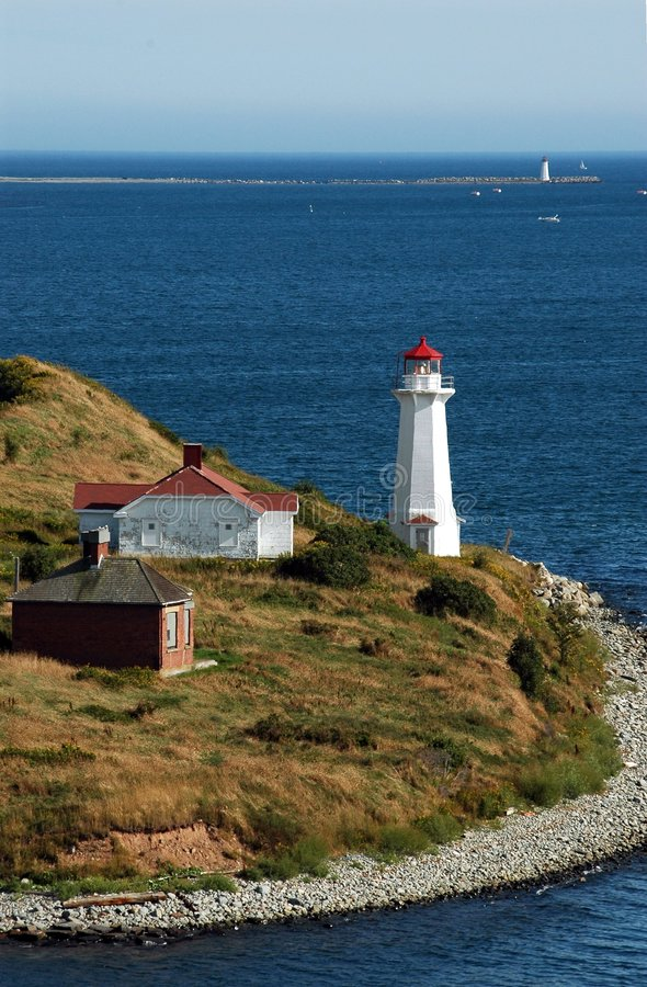 Free Lighthouses On Outskirts Of Halifax Harbour Royalty Free Stock Images - 252309