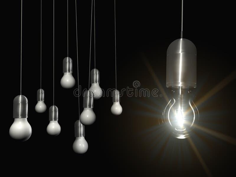Lighting stock illustration