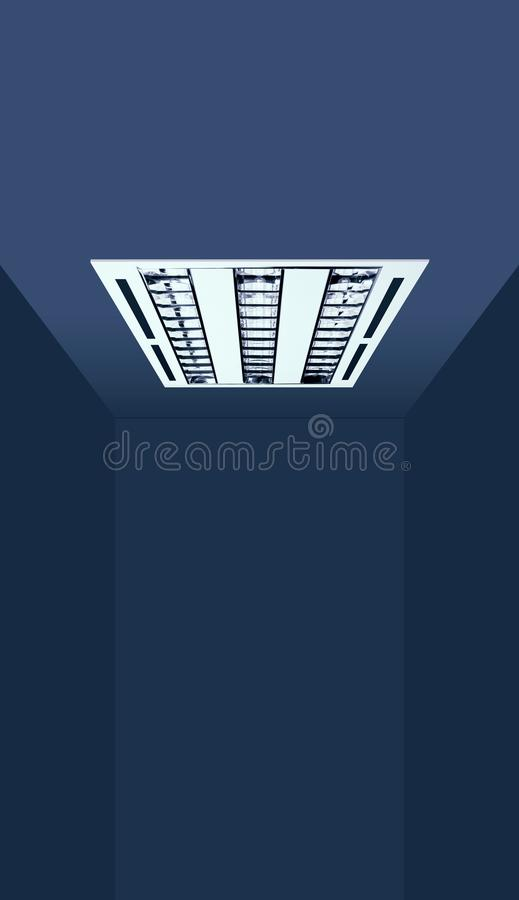 Lighting Application for Recessed Luminaire of House royalty free stock photography