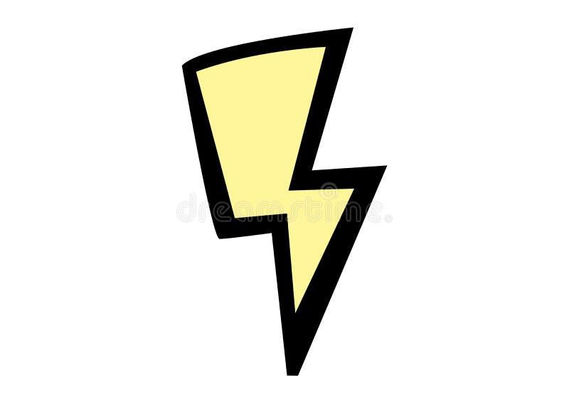 Lighting bolt stock illustration