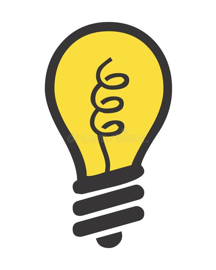 Download Lighting bulb stock illustration. Image of electric, illuminate - 51588