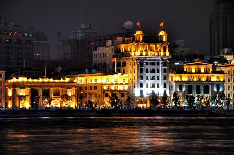Download Lighting Business Building Of Shanghai Bund, China Stock Photo - Image: 21964458