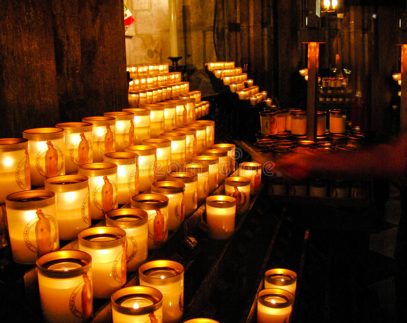Download Lighting A Candle In Church Stock Photo - Image of illuminated prayer 36929526 & Lighting A Candle In Church Stock Photo - Image of illuminated ...