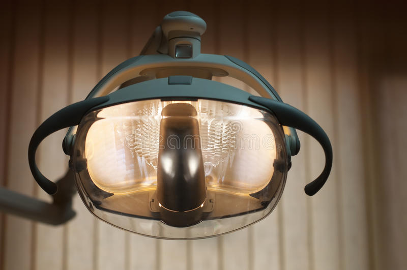 Lighting in the dental office stock images