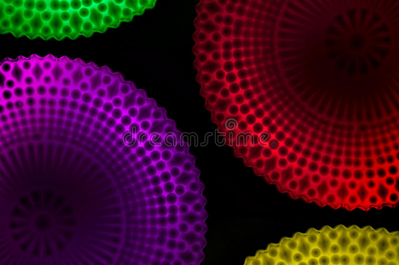 Lighting Designs Colorful royalty free stock photos