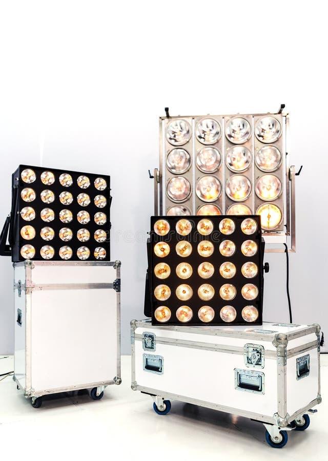 Lighting equipment royalty free stock photo