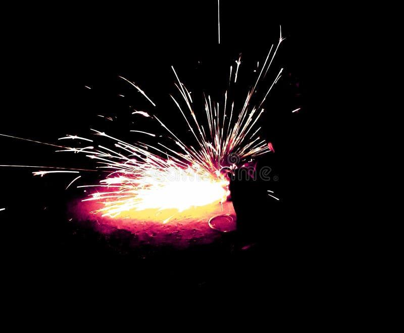 Lighting force. Kiso nh bojso royalty free stock photography