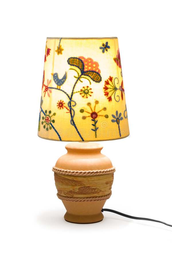 Lighting lamp stock images