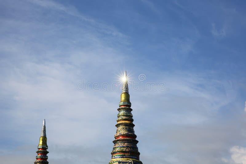 Lighting pagoda stock images