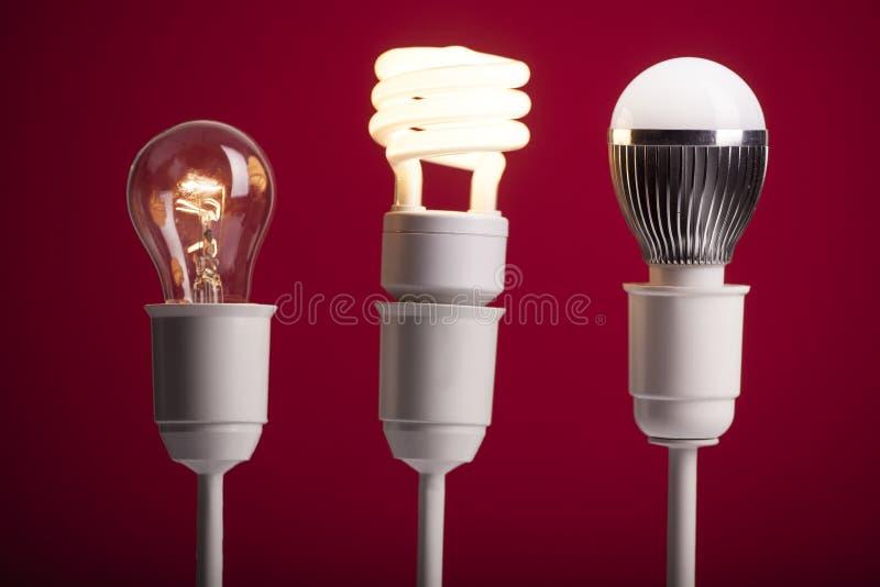 Lighting progress stock images