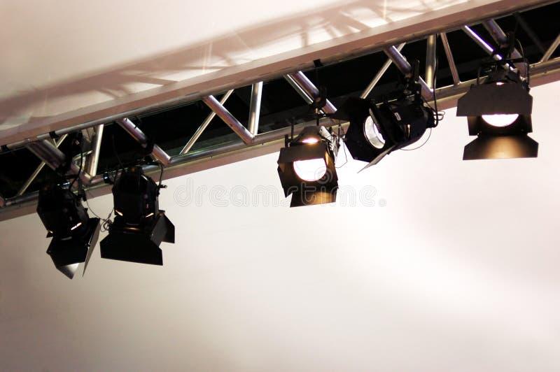 lighting stage στοκ φωτογραφία με δικαίωμα ελεύθερης χρήσης