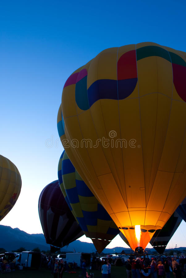 Download Lighting Up Portrait stock photo. Image of colorful, balloons - 10695926