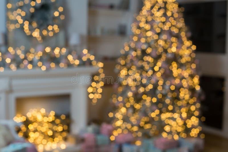 Lightnd de décoration de bonne année images libres de droits