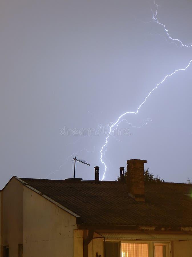 Download Lightning 1 stock image. Image of striking, power, southwest - 1031513