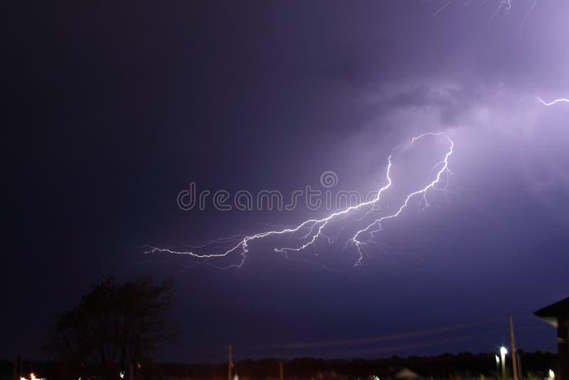 Lightning-1 imagem de stock
