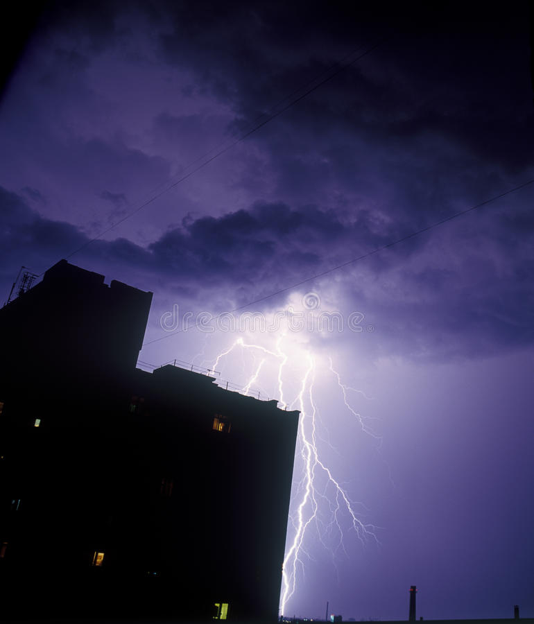 Lightning_2 Stock Photo