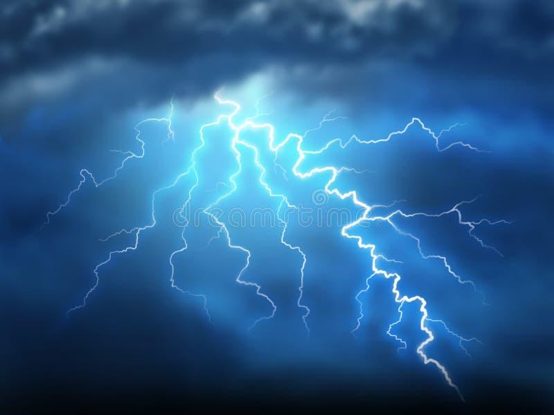 Lightning stock illustration