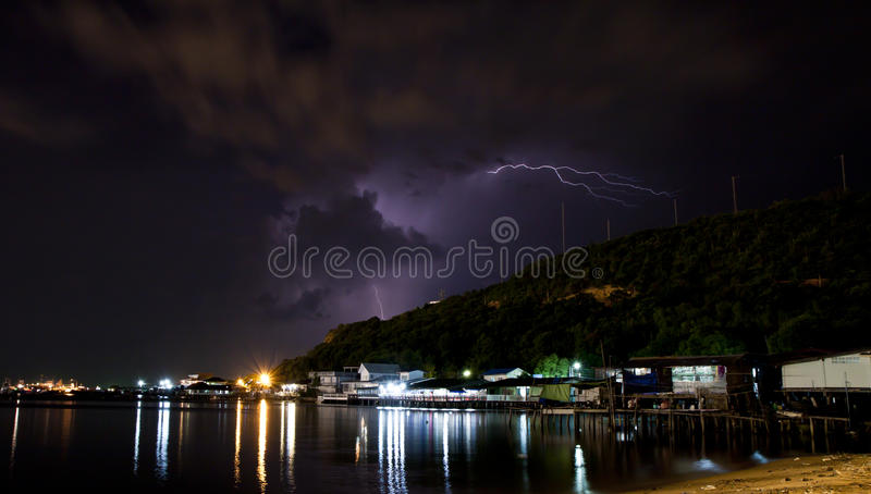 Of lightning. royalty free stock images