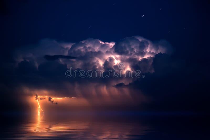 Lightning. Energy, thunder.