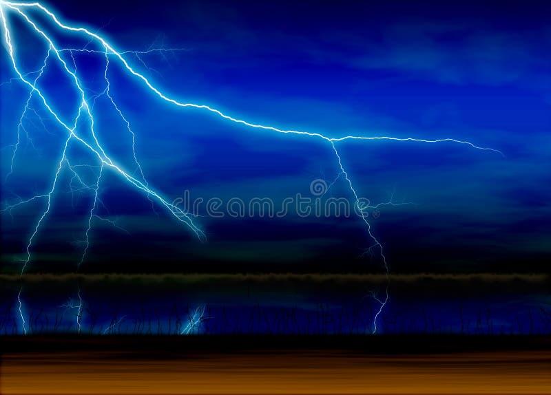 Lightning vector illustration