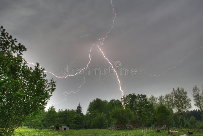 Download Lightning stock photo. Image of light, electricity, atmospheric - 7693438