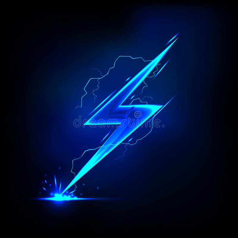 Free Lightning Bolt Royalty Free Stock Photo - 25648715