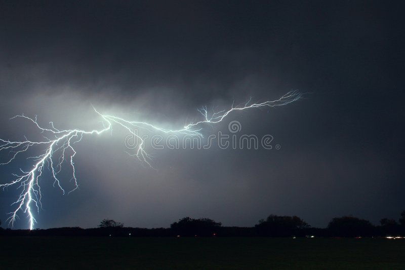 Lightning bolt stock photos
