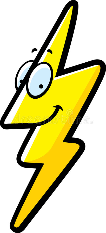 Lightning Bolt royalty free illustration