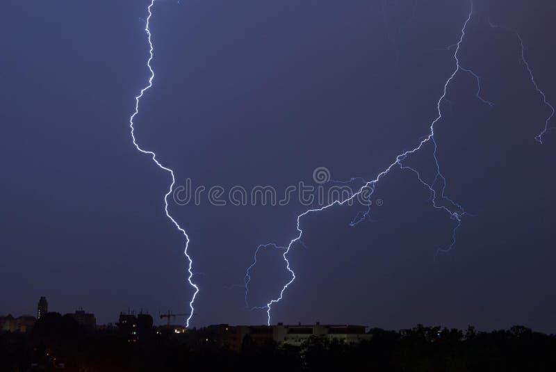 Lightning Bolt Hitting On The Ground Free Public Domain Cc0 Image