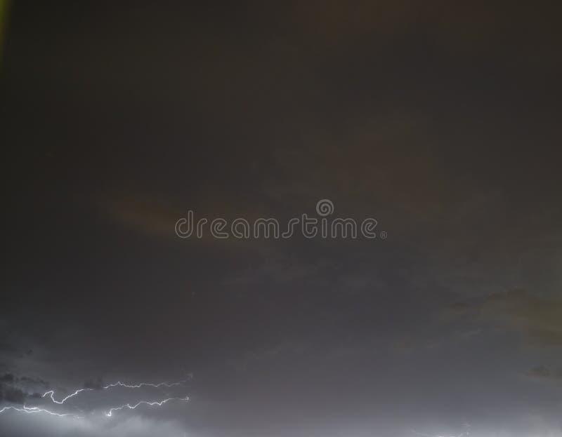 Lightning: lightning bolt, isolated against black ground. 2020 stock images