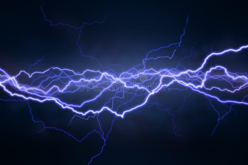Lightning Field stock illustration