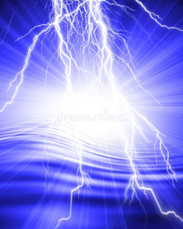 Lightning flash royalty free illustration