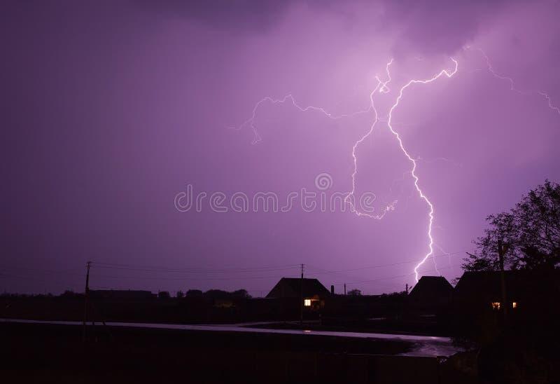 Download Lightning Hill stock image. Image of fast, danger, flashing - 17178189