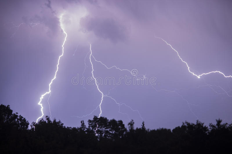 Lightning stock photos